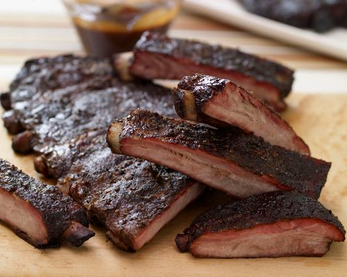 Picture of BBQ St. Louis-Style Seasoned Pork Spare Ribs