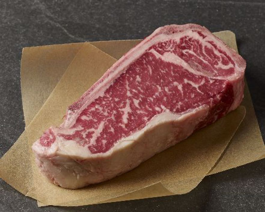 Picture of Natural Prime Dry-Aged Bone-In Strip Steak