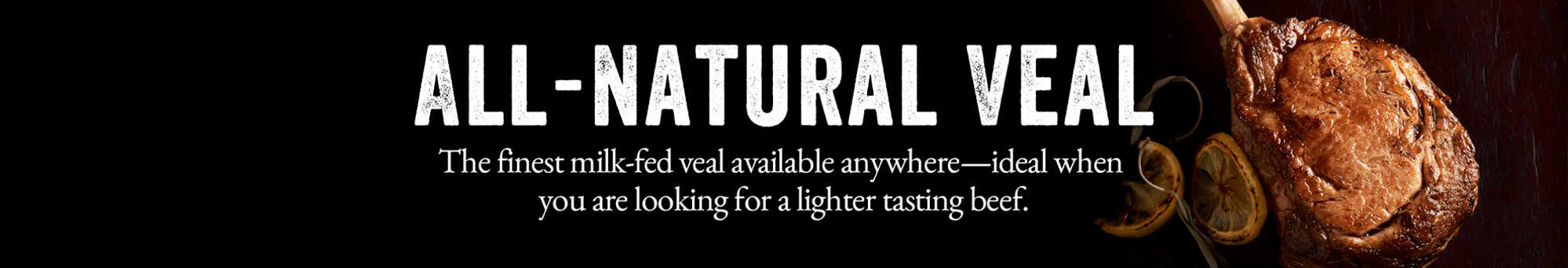Picture for category All-Natural Veal