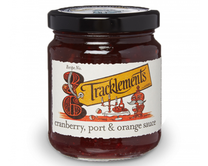 Tracklements Cranberry, Port & Orange Sauce